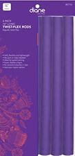 "Diane Twist-Flex Rods, Purple, 7/8"""