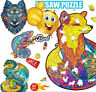 Wooden Puzzle Cartoon Animal Design Adult Kids Toy Home Decor Jigsaw Gift