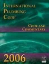 2006 International Plumbing Code: Code & Commentary (International Code Council