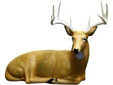 NEW Rinehart 121 Bedded Buck Archery Self-Healing Shooting Target in Brown Color