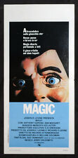 CINEMA-locandina MAGIC hopkins, ann-margret, lauter, ATTENBOROUGH