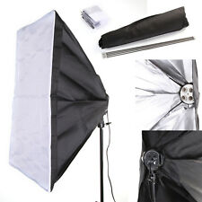 50x70cm Photo Studio Photography Softbox Umbrella Fr 4 Socket E27 Lamp Bulb Head