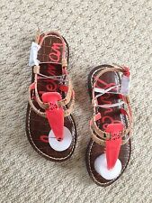 65f13ebdc190 Sam Edelman Girls Gia Thong Sandal Size 10 UK