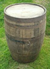 More details for old reclaimed used rustic whiskey / scotch whisky oak wooden barrel home bar pub