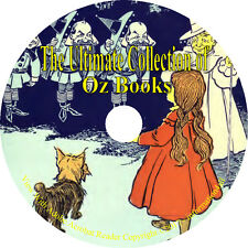 The Wonderful Wizard of Oz, 15 Books of Oz - By L. Frank Baum - Books on CD