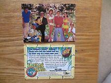 1998 DART GILLIGAN'S ISLAND PRISMATIC FOIL CAST PROMO CARD 3 OF 3 TORONTO EXPO
