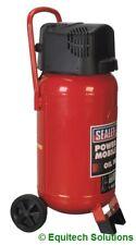 Sealey Tools SAC05020 50 Litre 50L Vertical Air Compressor Oil Free Upright New