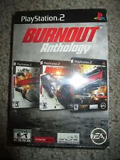 Burnout Anthology (Sony PlayStation 2, 2008) NEW ps2 Factory Sealed