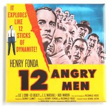 12 Angry Men FRIDGE MAGNET (3 x 3 inches) movie poster