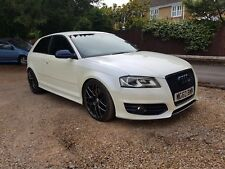 Pearl white audi s3 Stage 2 Fully loaded 68k new cambelt/waterpump/ 60 reg