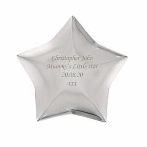 Personalised Star Trinket Box-Free Laser Engraving-Birthdays, Wedding, Thank you