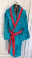 """ SALE "" MENS WOMANS UNISEX MOSCHINO BATH ROBE VELOUR TOWELING DRESSING GOWN"