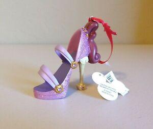 Disney Parks Hercules Megara Meg Runway Holiday Christmas Shoe Ornament New BNWT