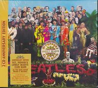The Beatles Sergeant Sgt Pepper's Lonely Hearts Club Band 2-disc CD NEW