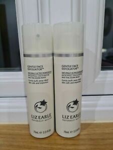 Liz Earle Gentle Face Exfoliator 2 x 70ML With Pump Brand New
