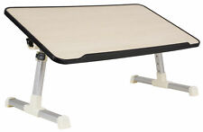 VIVO Height Adjustable Laptop Bed Tray Table Folding Laptop Workstation Stand