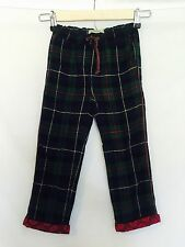Scotch R'Belle Green Red Plaid Pants NWT Age 6 Retails $99 Price $39