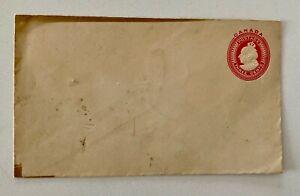 3c Mint Canada Queen Victoria Stationary