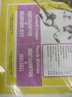 22/08/1979 Northampton Town v Bradford City & 25/08/1979 v Walsall [Newspaper/Pr