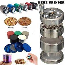 Hand 4 Layers Smash Herbal Metal Tobacco Crusher Hand Muller Mill Herb Grinder