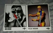 HULK HOGAN officially-licensed WCW Publicity Photos (2) * WWE