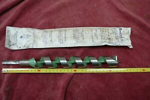 LONG RECORD Wood Auger Drill Bit 1 1/4 Inch .... 320 X 32MM