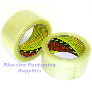 36 Rolls of 3M Scotch Clear Packing Tape 48mm x 66m