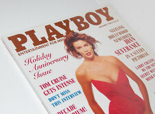 Playboy January 1990 (VF) Playmate Peggy McIntaggart, Joan Severance