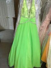 PARIS by MON CHERI  prom pageant quinceanera dress Lime 10