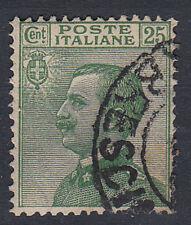 1927 VITTORIO EMANUELE III N. 219 25 CENT  US. 8