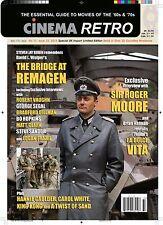 CINEMA RETRO #33 JAMES BOND ROBERT VAUGHN ROGER MOORE KING KONG RAQUEL WELCH