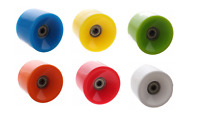 SKATEBOARD WHEELS LONGBOARD 4 WHEELS COLOURS ABEC-7