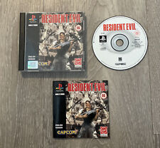 Resident Evil PlayStation 1 PS1 Black Label PAL Complete With Manual