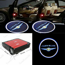 2 X LED for Chrysler 300 200 Logo LED Shadow Car Door Wireless Projector Light
