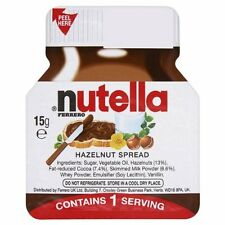 Nutella Individual Portions 20 X 15g Serving