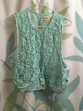 Lace Womens Top Hollister
