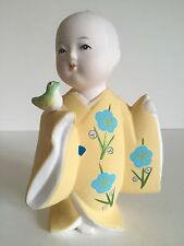 VINTAGE JAPANESE PORCELAIN BISQUE GUMPS EXCLUSIVE HAKATA DOLL MALE FIGURINE