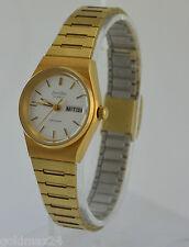 ZentRa Safari Damen-Armbanduhr / Quarz / Edelstahl vergoldet