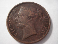 Straits Settlements East India Company 1845  Half Cent Copper Coin Scarce