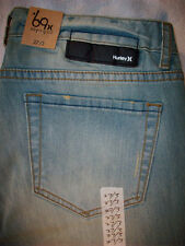 HURLEY '69 SKINNY BOOT LOW RISE STRETCH WOMENS JEANS SIZE 27 | L33 NEW $59