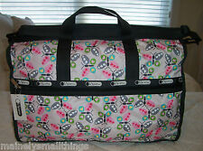 NWT LeSportsac FLUTTER Butterfly LARGE WEEKENDER 7185 4970