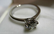 Kaedesigns, New Genuine 18ct 750 Solid White Gold Claw Set Engagement Ring