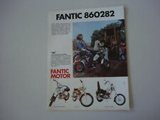 advertising Pubblicità 1974 FANTIC LEI 49 cc/TI/CHOPPER