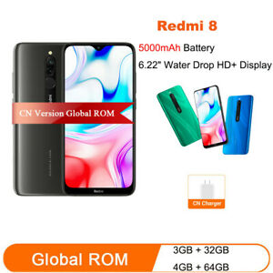 Global ROM Xiaomi Redmi 8 3GB RAM 32GB ROM Mobile Phone Snapdragon 439 Octa Core