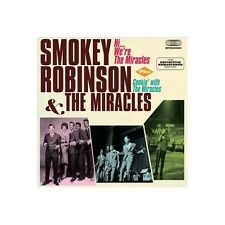 CD Smokey Robinson & the Miracles- hi we're the miracles/cookin' with the mi