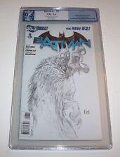 Batman (New 52)  #06 - DC 2012 Modern Age 1:200 sketch variant - PGX NM 9.4