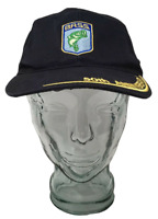 Bass 50th Anniversary Baseball Cap Patch Hat Cotton Blue OSFM Strap Back