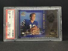 1998 SP Authentic Peyton Manning Rookie /2000. PSA 8 NM-MT