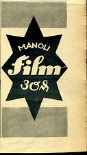 Manoli-- Film -- 30 & -- Werbung-1921