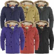 Brave Soul Parkas Regular Size Coats & Jackets for Men